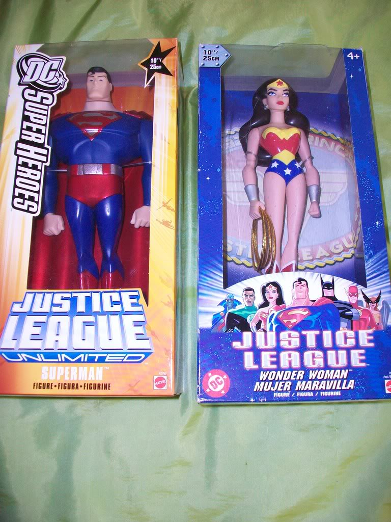 Justice League Unlimited  now with Pics and some randoms. 100_0222
