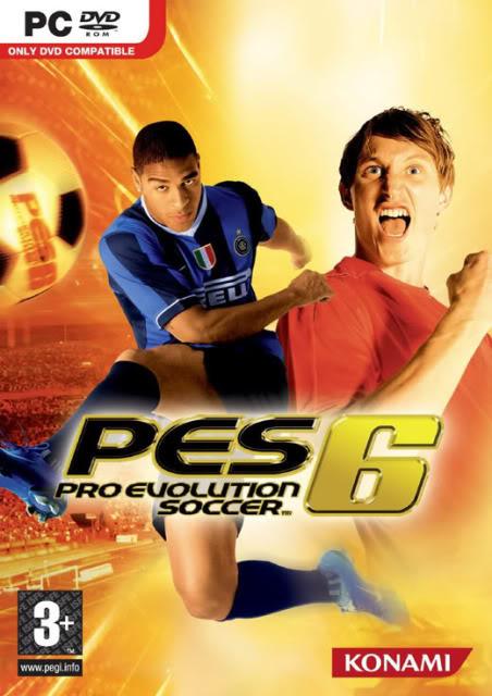 لعبة القدم الشهيره Pro Evolution Soccer 6 0cfca49c