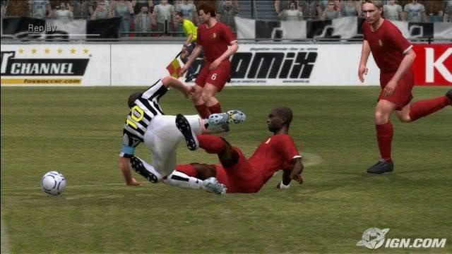 لعبة القدم الشهيره Pro Evolution Soccer 6 29d59e6c