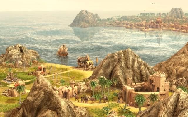 لعبة المغامرات و الحروب الاستراتيجية Anno 1404 Dawn Of Discovery 601b0502