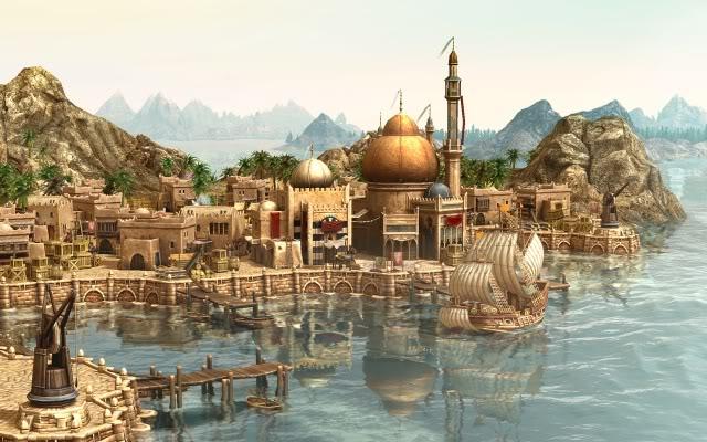 لعبة المغامرات و الحروب الاستراتيجية Anno 1404 Dawn Of Discovery 752b8be6
