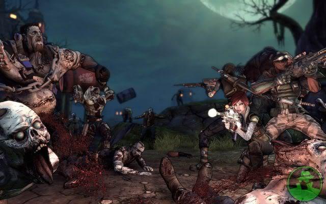 لعبة الحرب الرهيبة Borderlands: The Zombie Island of Dr Ned E55962c3