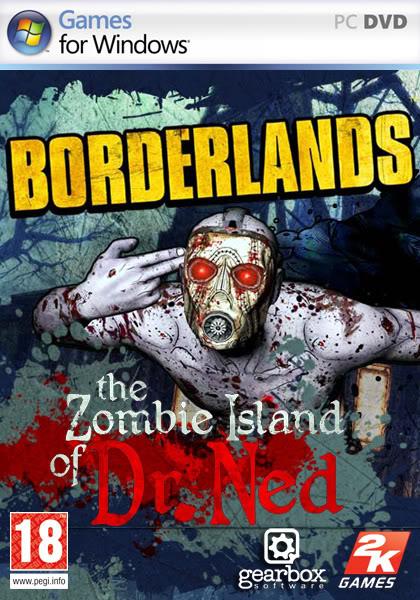 لعبة الحرب الرهيبة Borderlands: The Zombie Island of Dr Ned F7b29111