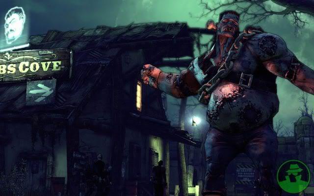 لعبة الحرب الرهيبة Borderlands: The Zombie Island of Dr Ned Fcea4e32