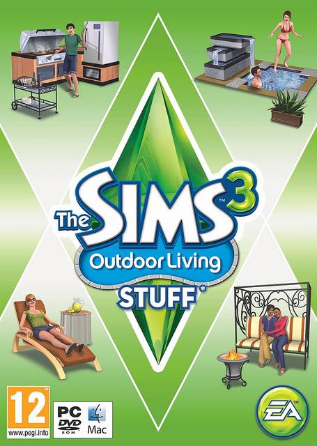 لعبة The Sims 3: Outdoor Living Stuff-FLT  A033214b
