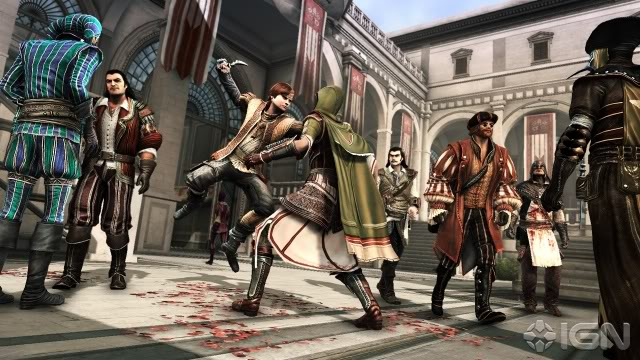 جميع اجزاء اللعبه الاسطوريه التى يعشقها الجميع والاشهر من نار على علم Assassin's Creed 7bf074b9