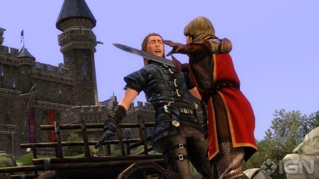 لعبة The Sims Medieval Cb300543