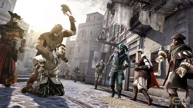 جميع اجزاء اللعبه الاسطوريه التى يعشقها الجميع والاشهر من نار على علم Assassin's Creed E37b5033