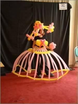 Creativity with balloons 34
