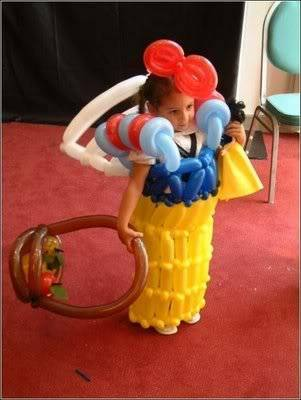 Creativity with balloons 35