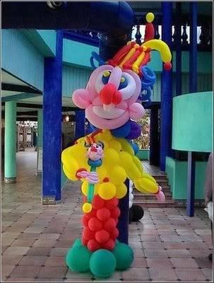Creativity with balloons 6