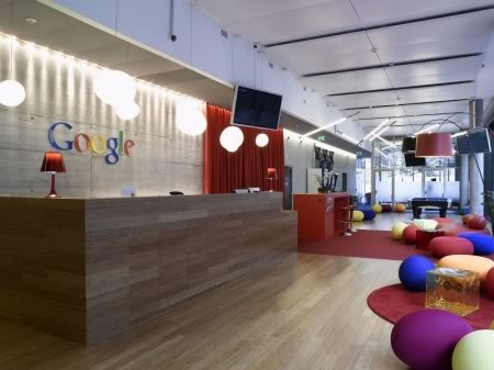 How does Google's office looks like? Google_002