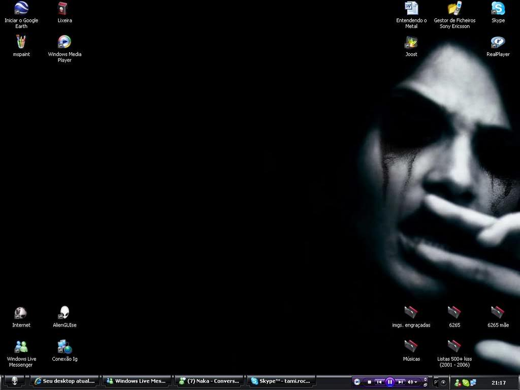 Seu desktop atual...^^ - Página 3 Desktop