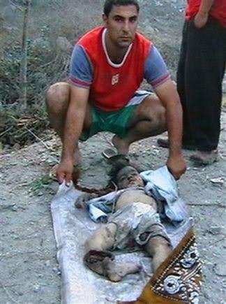 شاهد هنا : طفلة اسرائيلية تكتب رسالة على صاروخ .. Genocide99