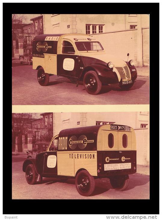 Photos et cartes postale 2cv camionnette  - Page 3 AZUContinentalEdison_zps21db8ddc