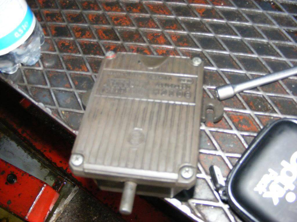on-off-on starting problem - ignition module or hall sensors?? 00957696