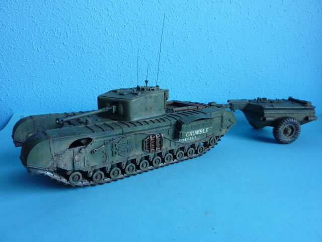 Churchill Mk VII - Tamiya 1:35 ChurchillCrocodile19
