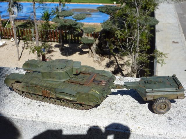 Churchill Mk VII - Tamiya 1:35 ChurchillCrocodile24