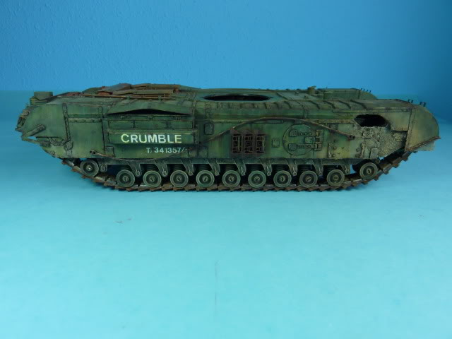 Churchill Mk VII - Tamiya 1:35 ChurchillCrocodile32