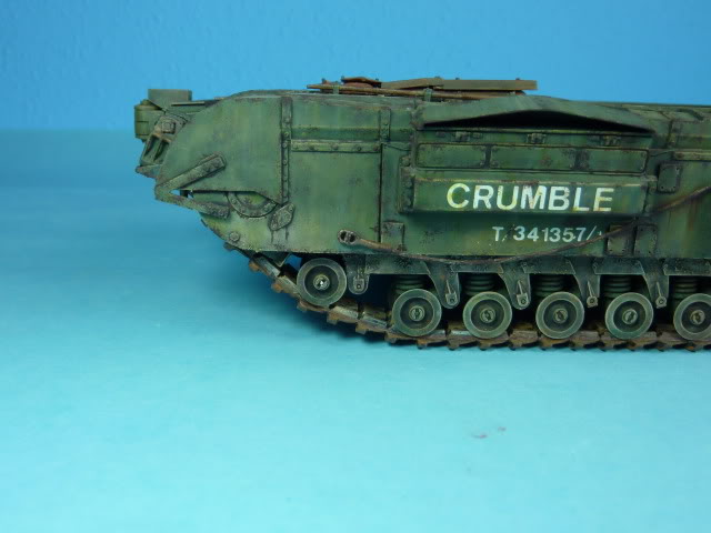 Churchill Mk VII - Tamiya 1:35 ChurchillCrocodile33