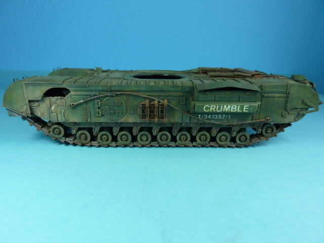 Churchill Mk VII - Tamiya 1:35 ChurchillCrocodile36