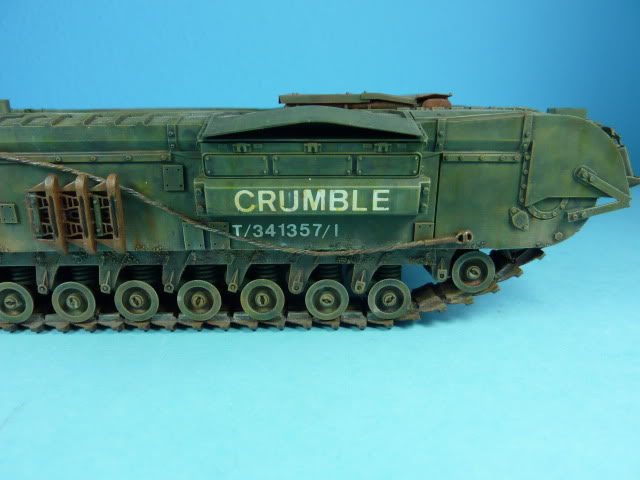Churchill Mk VII - Tamiya 1:35 ChurchillCrocodile38