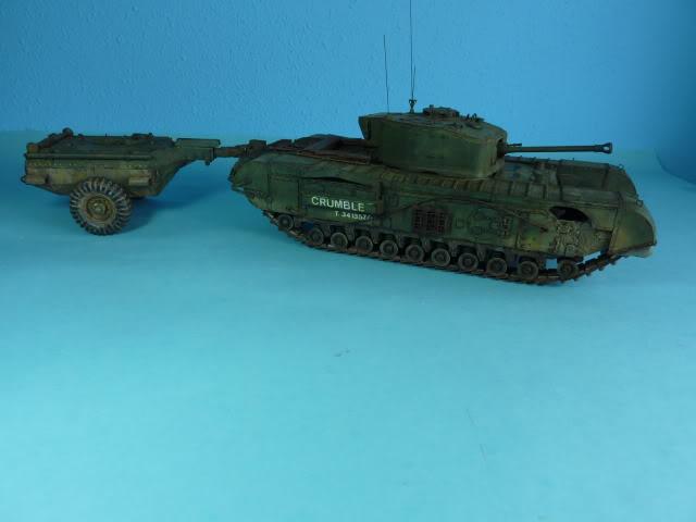 Churchill Mk VII - Tamiya 1:35 ChurchillCrocodile39