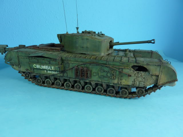 Churchill Mk VII - Tamiya 1:35 ChurchillCrocodile40