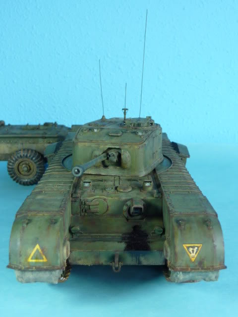 Churchill Mk VII - Tamiya 1:35 ChurchillCrocodile42