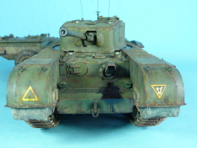 Churchill Mk VII - Tamiya 1:35 ChurchillCrocodile43