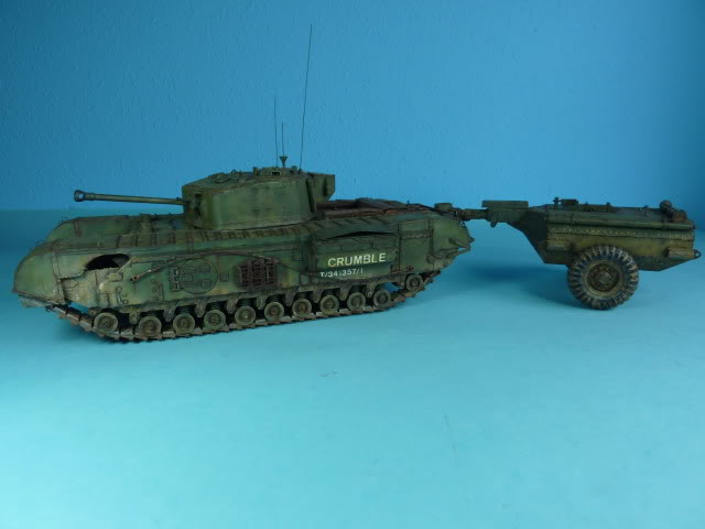Churchill Mk VII - Tamiya 1:35 ChurchillCrocodile44