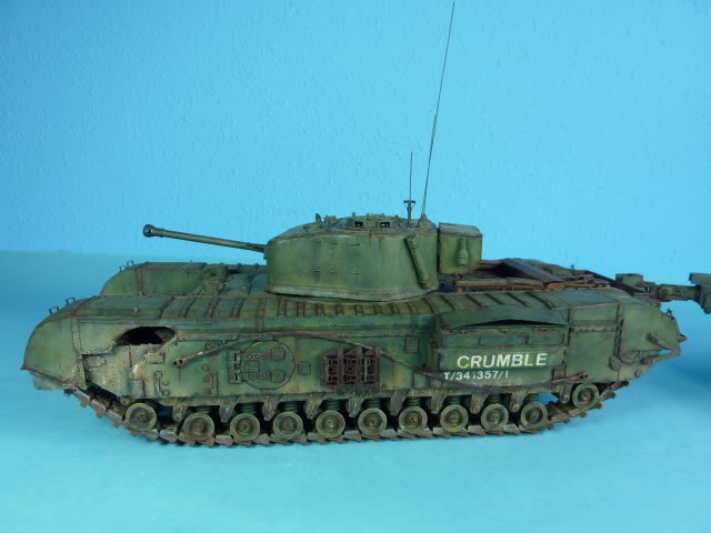 Churchill Mk VII - Tamiya 1:35 ChurchillCrocodile45