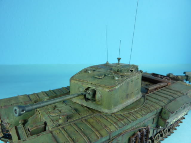 Churchill Mk VII - Tamiya 1:35 ChurchillCrocodile52