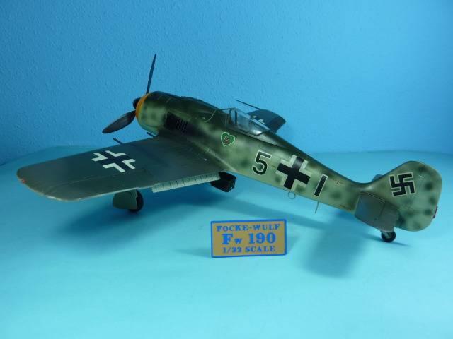 Focke Wulf 190 A8, Hasegawa 1:32 FockeWulf190A823