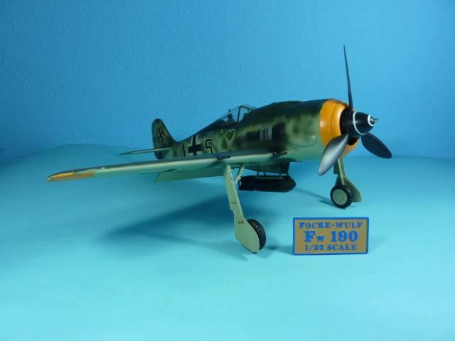 Focke Wulf 190 A8, Hasegawa 1:32 FockeWulf190A825