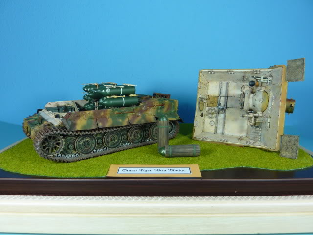 Sturmtiger - Tamiya 1:35 SturmTiger38cmMortar59