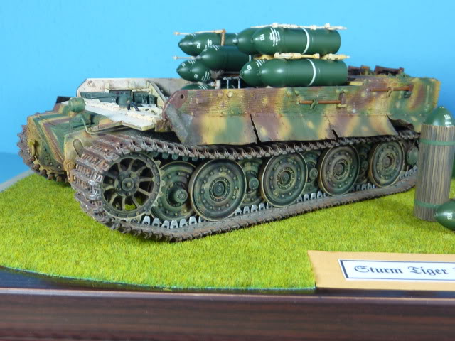Sturmtiger - Tamiya 1:35 SturmTiger38cmMortar60