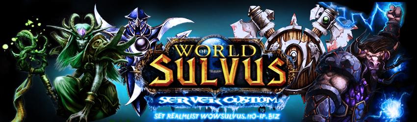 el ultimo parche de wow sulvus