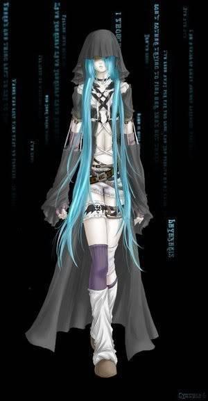 Illyxia Flaze Darkanimebluehair