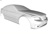 Jag's 3-d cars: Classic Muscle Car Concept Th_3-4-1