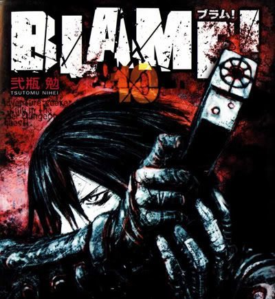 "BLAME! : ""If you try to fail, and succeed, which have you done?"" Blame-v10--Cover"
