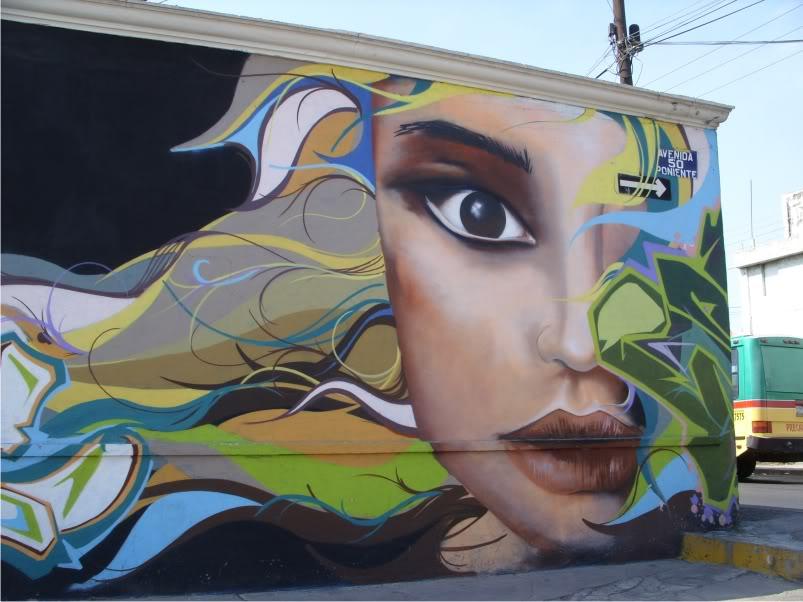 asi un grafiti en mi casa  Art