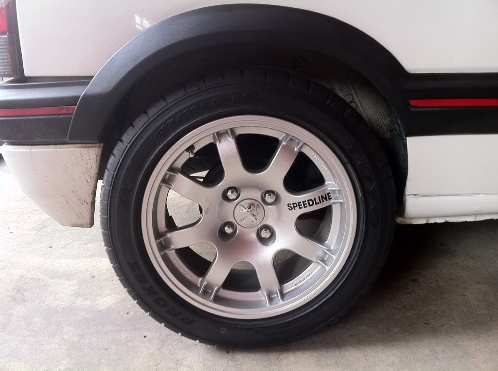 [Mercurio] 205 GTI 1.6 1992, Blanc Meije a Bogotá, Colombie 918ed8aa
