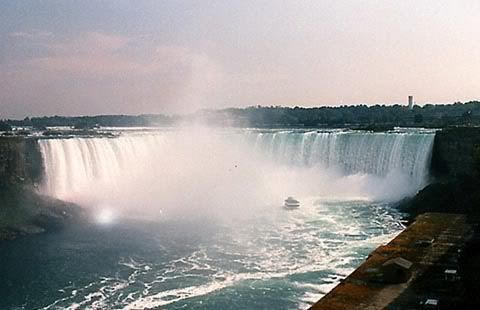 Seleen and Shuda's Honeymoon Journal NiagaraFalls