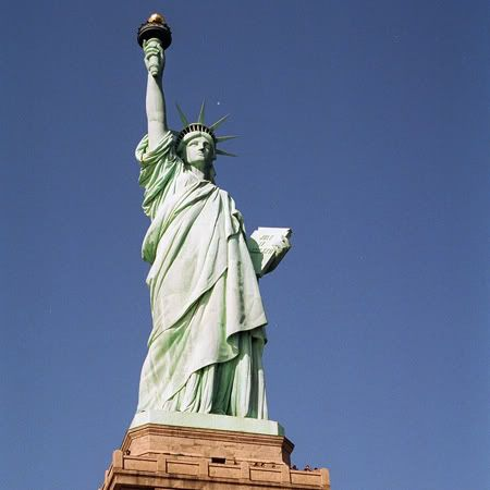 Seleen and Shuda's Honeymoon Journal StatueofLiberty