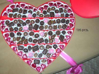 Happy Valentine's Day ladies Chocolates