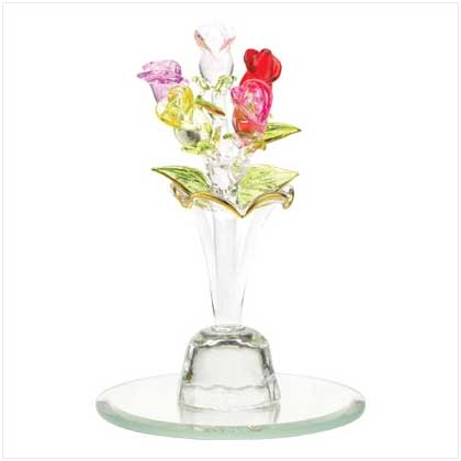Happy Valentine's Day ladies - Page 2 Glassrosesinglassvase
