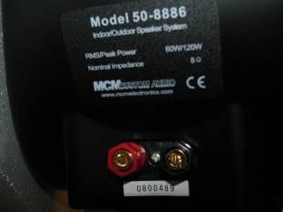 FS: MCM Indoor/Outdoor Speakers IMG_2541