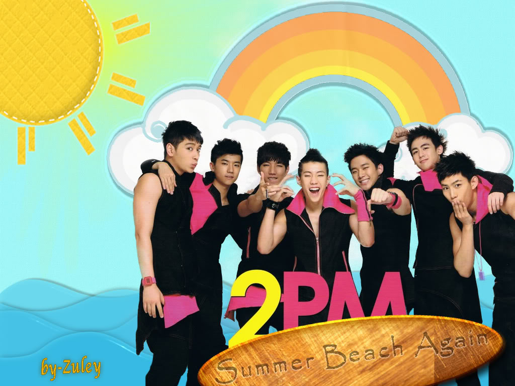 Wallpapers 2PM 2pmsummer