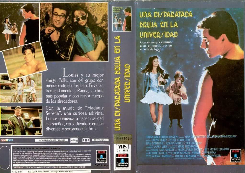 Terrible VHS Box Art Una_Disparatada_Bruja_En_La_Univers